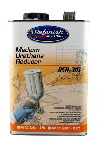 Refinish RSR-301 - Medium Urethane Grade Reducer Gallon -