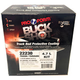 BUCK SHOT TRUCK BED LINER TINTABLE w/ FREE SPRAY GUN - 1.16 US GAL, 4.7LT  (3:1) - Jerzyautopaint.com