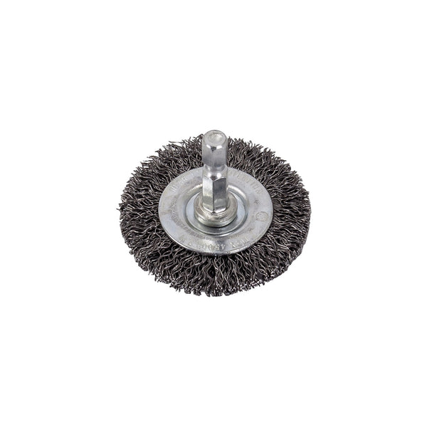 "2"" Wire Wheel with 1/4"" Shank - Coarse Wire AES-1860 -"