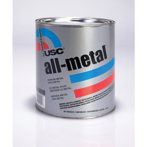 USC 14060 All-Metal Specialty Body Filler - QT w/ Hardener - Jerzyautopaint.com