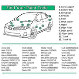 Custom Automotive Touch Up Spray Paint For TOYOTA / LEXUS Cars -
