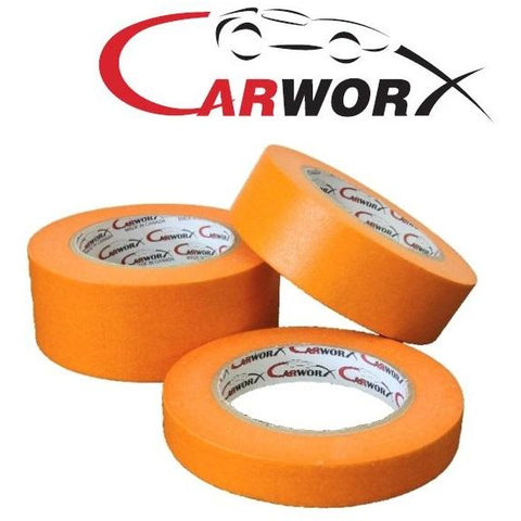 "Carworx Orange Masking Tape 3-Pack 3/4"", 1-1/2"", 2"" - Jerzyautopaint.com"