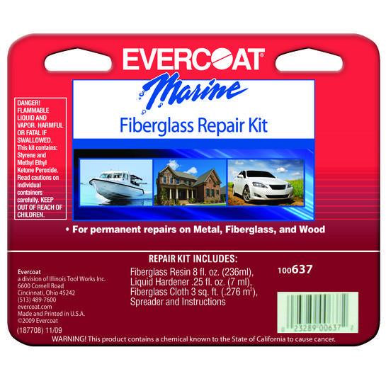 Evercoat 100637 8 Oz Fiberglass Repair Kit - Jerzyautopaint.com