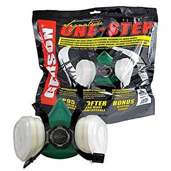 Gerson 8211P Medium Signature One Step Respirator P95 - Jerzyautopaint.com