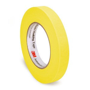 "3M Automotive Refinish Yellow Masking Tape, 3/4"" (18 mm), 06652 - Jerzyautopaint.com"