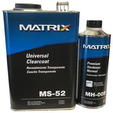 Matrix MS-52 Universal Clearcoat w/Qt Hardener