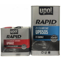 UPOL 6505 Rapid System Exceptional High Gloss Clear Coat 5 L W/ Hardener 2:1 -