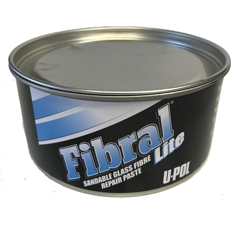 U-POL Fibral Sandable FIBERGLASS Repair Paste, UP0766 - Jerzyautopaint.com