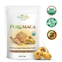 Load image into Gallery viewer, Pure Maca 2lb Value Size | 100% Raw Organic Pure Maca Powder | Non-GMO | by Viva Deo Superfoods