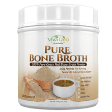 Load image into Gallery viewer, Pure Organic Grass Fed Bone Broth Protein Powder