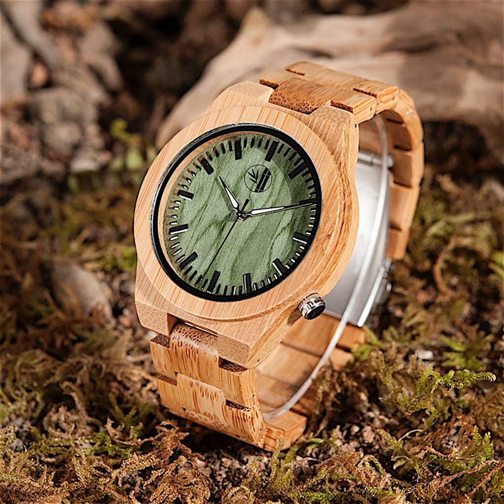 Arif - Bamboo Watch - 359° Watches
