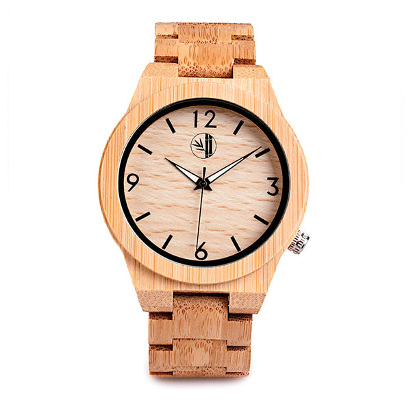 Guntur - Bamboo Watch - 359° Watches