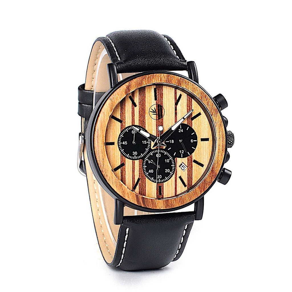 Haytham - Bamboo Watch - 359° Watches