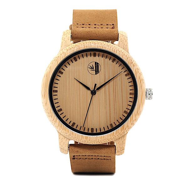 Mansur - Bamboo Watch - 359° Watches