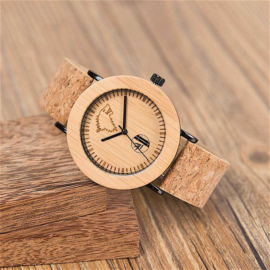 Nisha - Bamboo Watch - 359° Watches