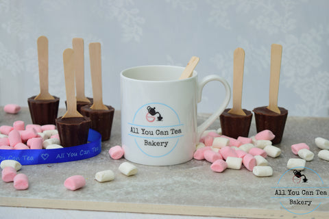 Mug and Hot Chocolate Sticks (4)