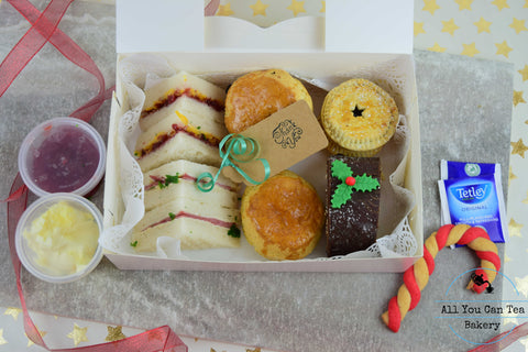 Christmas Afternoon Tea (for one person)