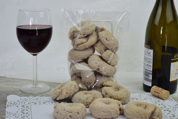 Red Wine Biscuits (Vegan)