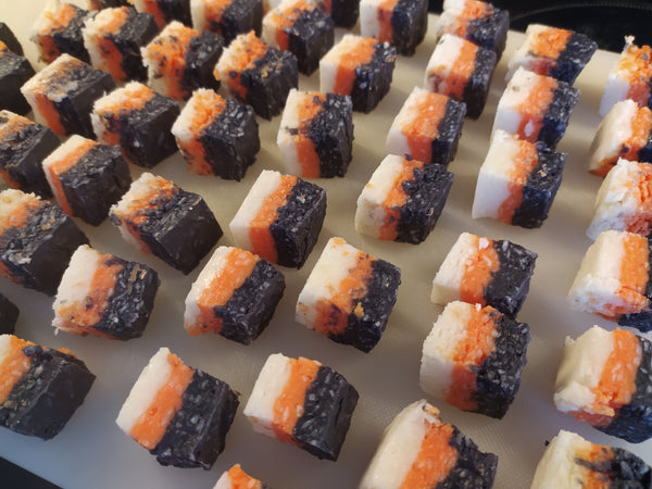 Halloween Coconut Ice