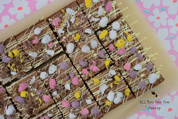 Easter Mini Egg Brownie