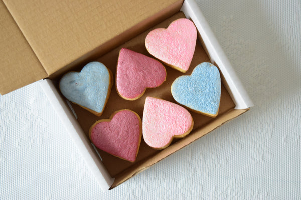 Rainbow Shortbread Gift Box