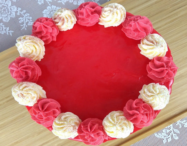 Lemon & Raspberry Cake