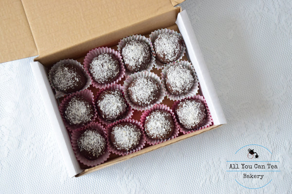 Vegan Coconut Balls, Dairy Free Dessert, Gluten Free Sweet Treat, Edible Gift Idea