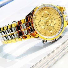 Gold Luxury Men's Watch - FREE GIVEAWAY!!! - MoonPitch