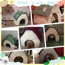 Soft Pets, Cats, Dogs House - MoonPitch