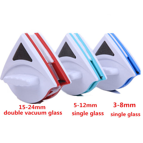Double Side Magnetic Window Glass Cleaning Brush - MoonPitch