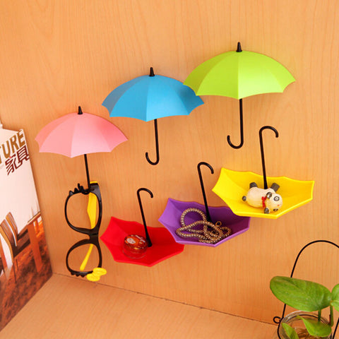 Colorful Umbrella Wall Hook - MoonPitch