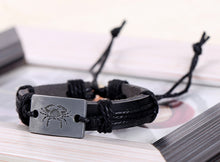 Zodiac Leather Charm Bracelets - FREE GIVEAWAY!!! - MoonPitch