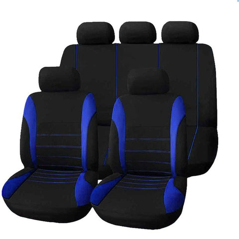 Universal Car Seat Cover 9 Set Full Seat Covers for Crossovers Sedans - MoonPitch
