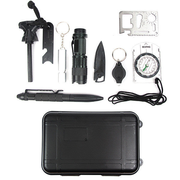 Emergency Survival Kits 10 in 1 - MoonPitch
