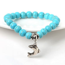 Turquoise Dolphin Bracelet - MoonPitch