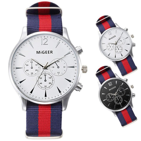 Casual Nylon Watch