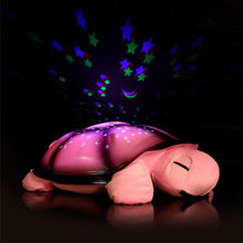 Turtle LED Night Light Stars With Music - MoonPitch