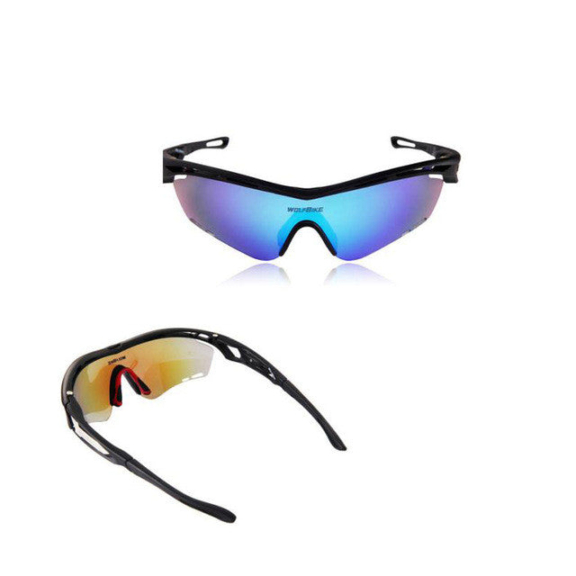 High Quality Camping Hiking Travel Cycling Sunglasses Bike Goggles Outdoor Sports Glasses # - MoonPitch