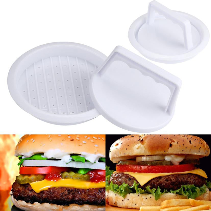 Press Form Hamburger Mold Maker Round Meat Mince BBQ Kitchen Accessories - MoonPitch