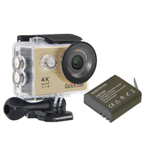 Action Camera Deportiva Original H9 WIFI Remote 4k Ultra Full HD 1080p 60fps go Sport Camera pro Waterproof Helmet DV Camara - MoonPitch