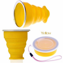 Hot Fashion Convenient Collapsible Coffee Tea Mug Silicone Travel Outdoor Camping Portable mugs Folding Water Cup - MoonPitch
