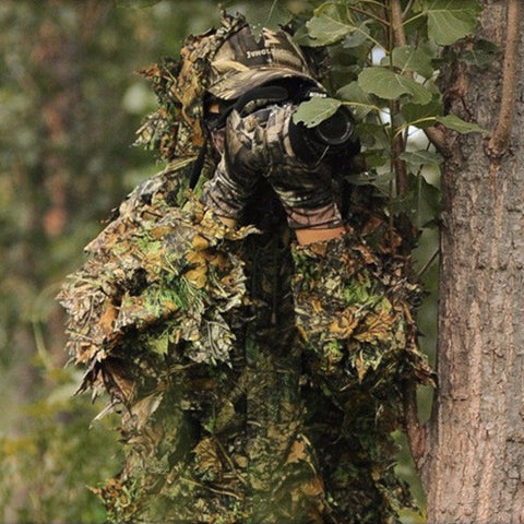 Camouflage Hunting Clothing Jacket and Pants