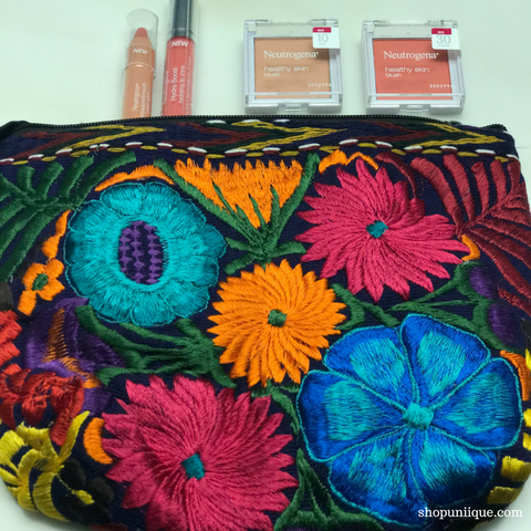 Blue Cosmetic Bag