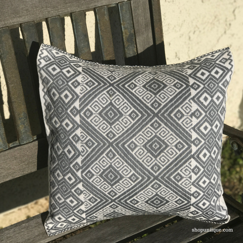 Gray Cushion