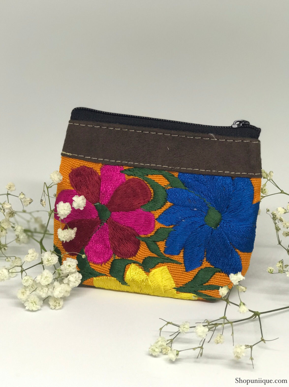 Tangerine Coin Purse