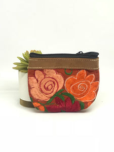 Brick Orange Coin Purse