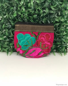 Floral Pink Coin Purse