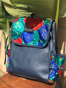 Teal Blue Backpack