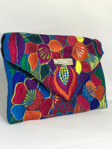 Blue Tropical Clutch