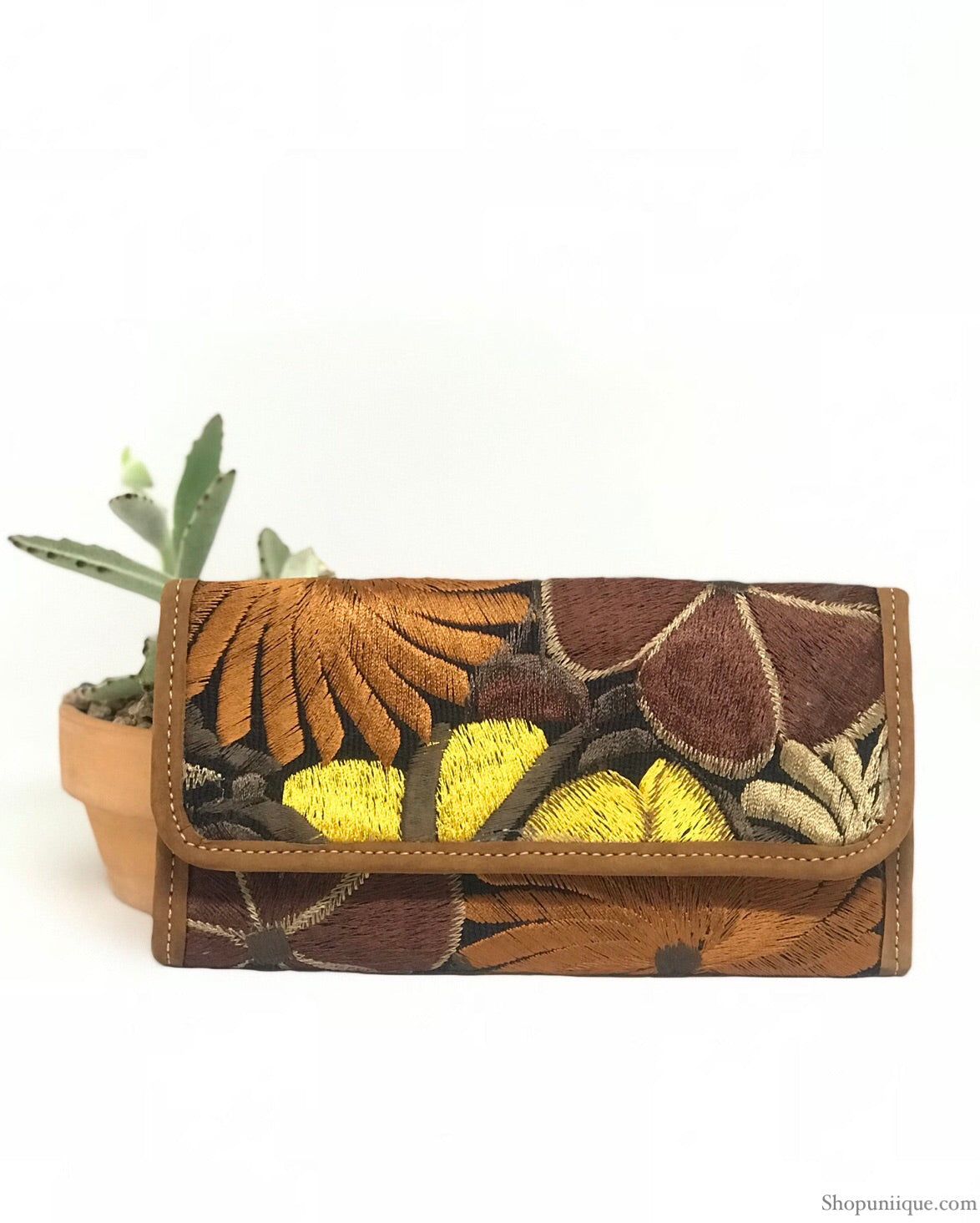Black and Brown Wallet